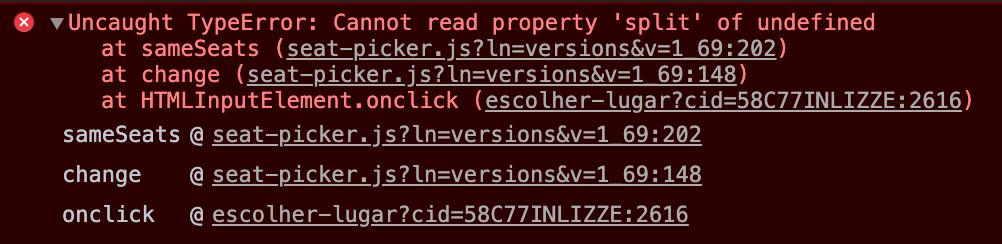 Error en Javascript